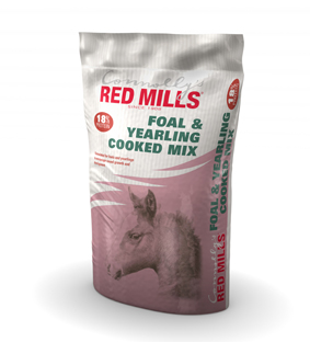 18% Foal & Yearling Cooked Mix by Red Mills 20 Kg